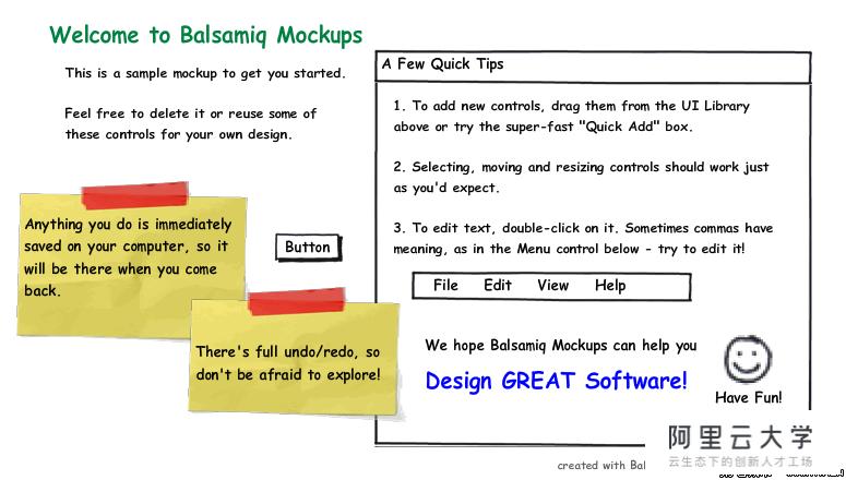 神奇的手绘界面原型设计工具--balsamiq mockups_html